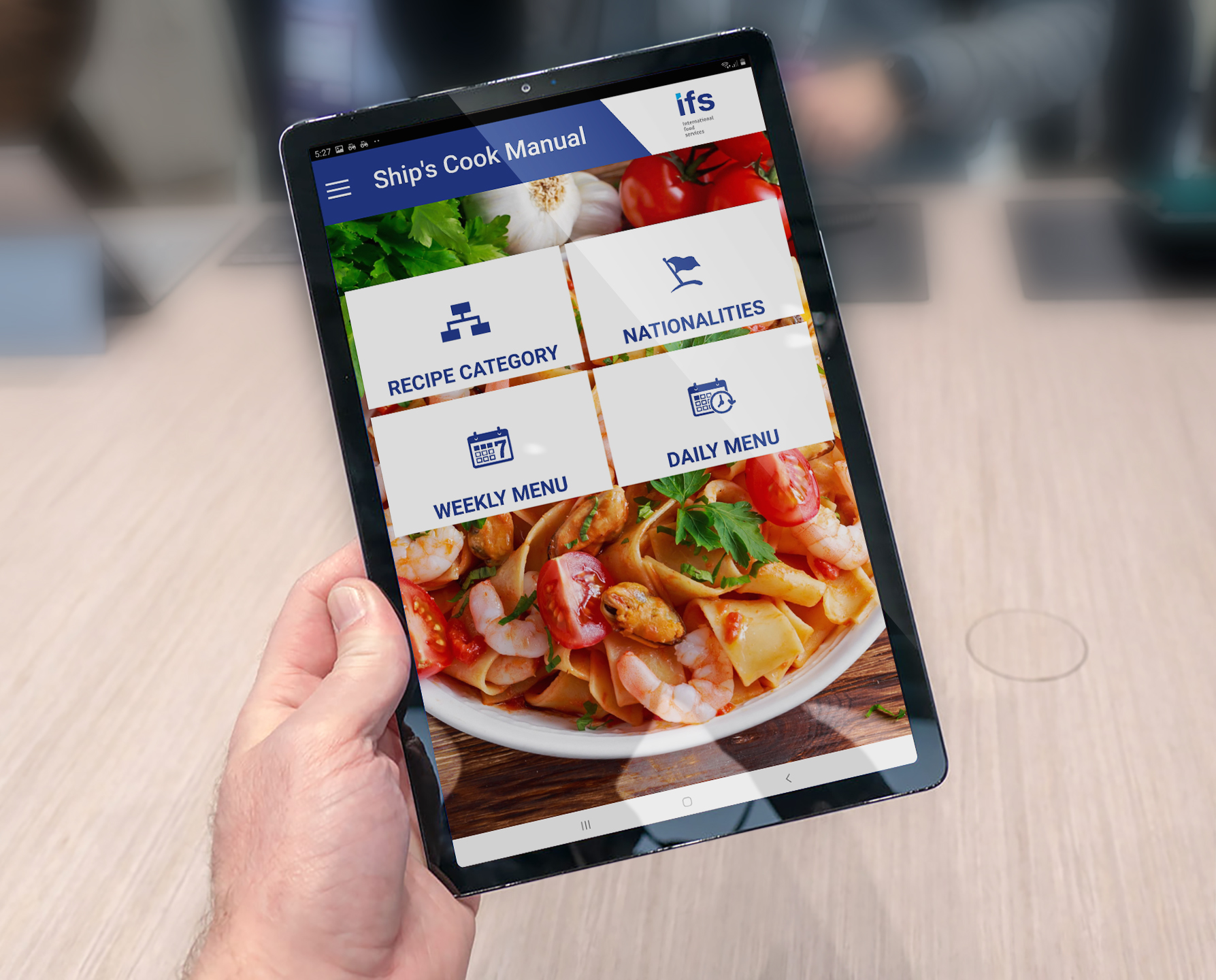 IFS cooking app